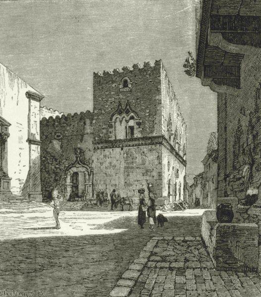 italy-palazzo-corvaja-in-taormina-antique-print-1877-147858-p